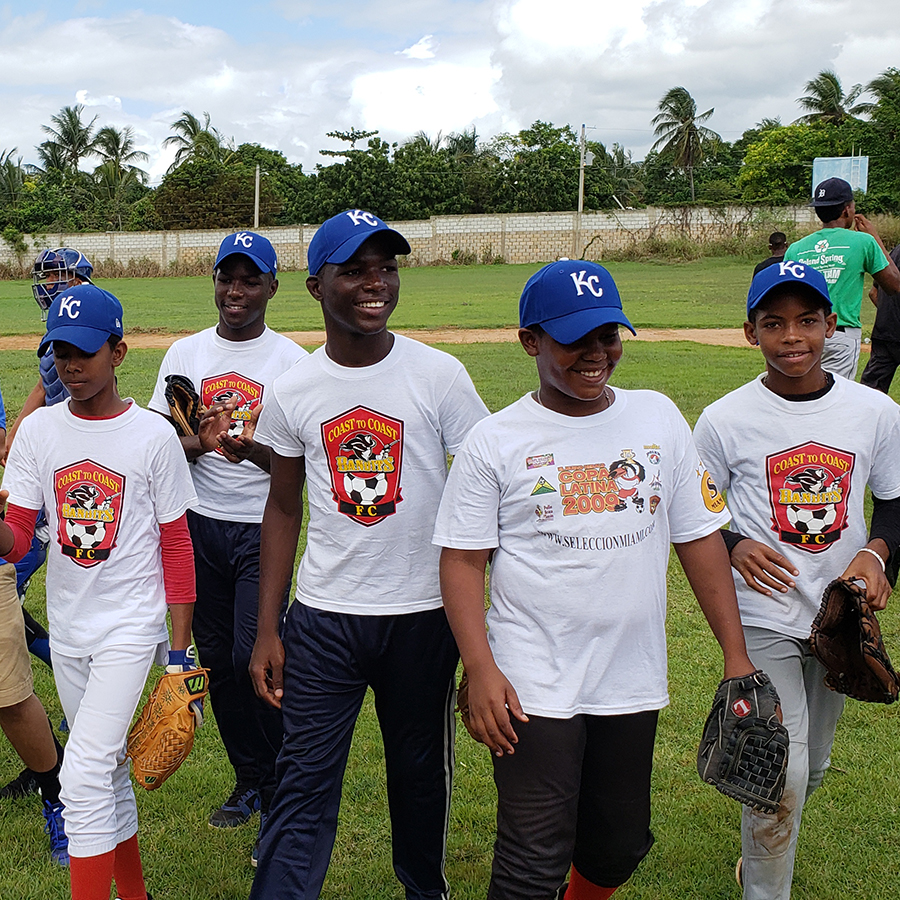 Undefeated Kansas City Royals team in the Dominican Republic